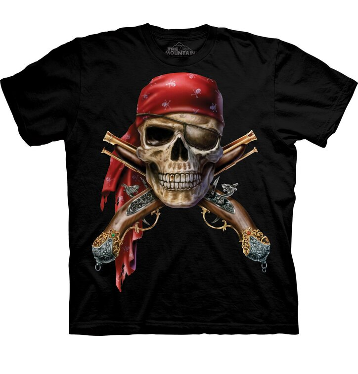 T-Shirt Piratenschädel
