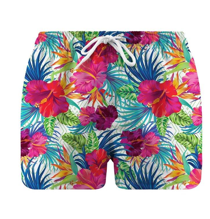 Herren Badeshorts Jungle Flowers   Dedoles f76d09184e