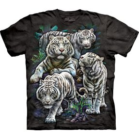 Kinder T-Shirt Tigerwelt