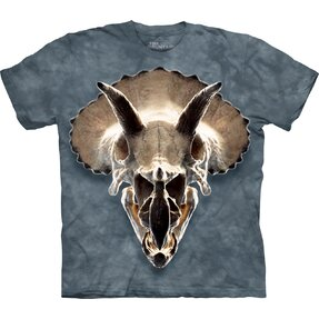 3D T-Shirt Triceratops