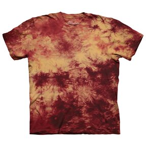 T-Shirt Golden Karmesinrot