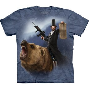T-Shirt Emanzipator Lincoln