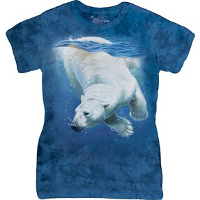 Polar Bear Dive Zoo T Shirt