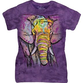 Damen T-Shirt Russo Elefant