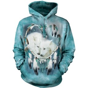 Wolf Heart Wolves Hoodie