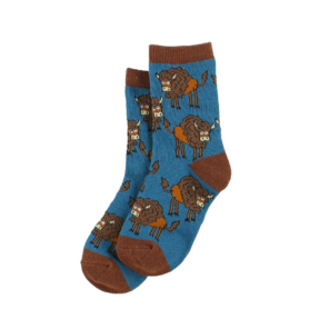 Kindersocken Bison Bubu